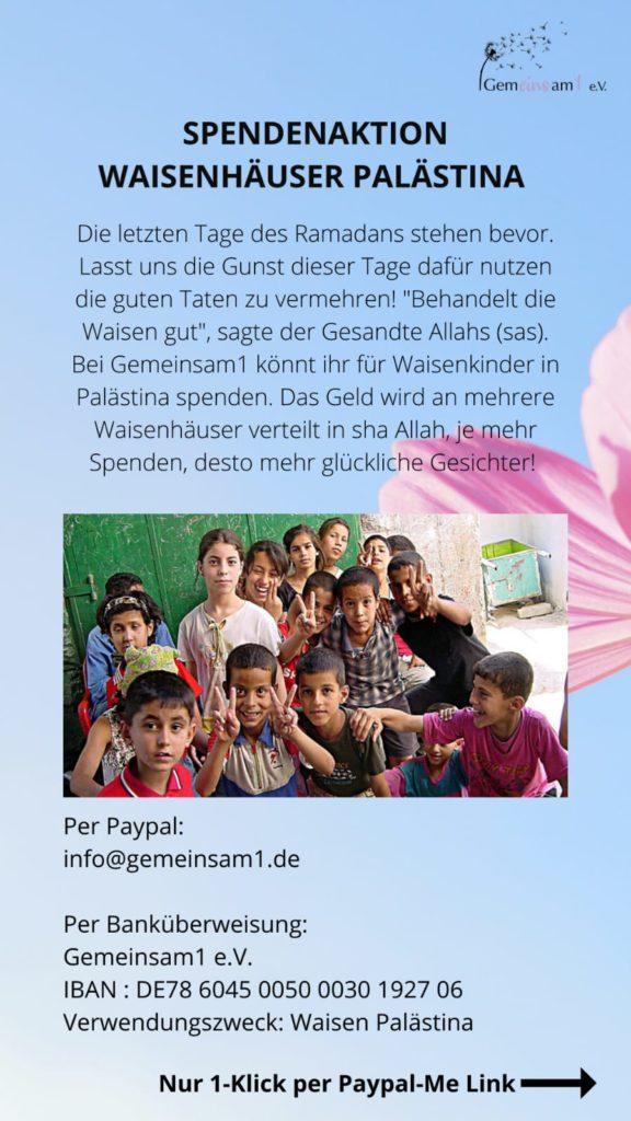 Spendenbericht Ramadan 2020